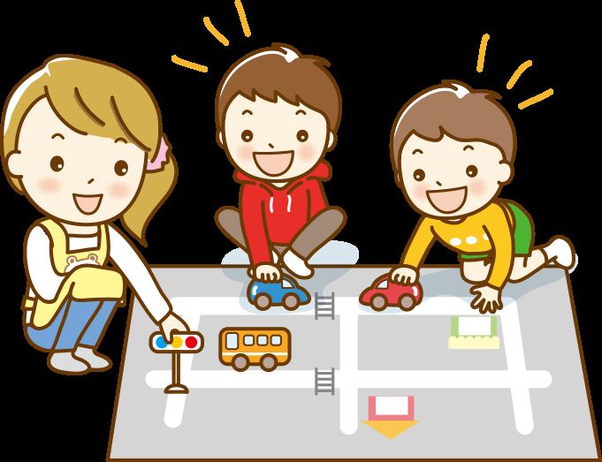 保育園・幼稚園での見学項目の例